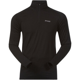 Bergans Fjellrapp Sweat avec demi-zip Homme, black